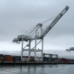 Shipping Crane At The Port Of Oakland